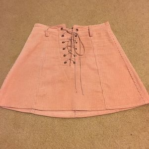 LF light pink skirt